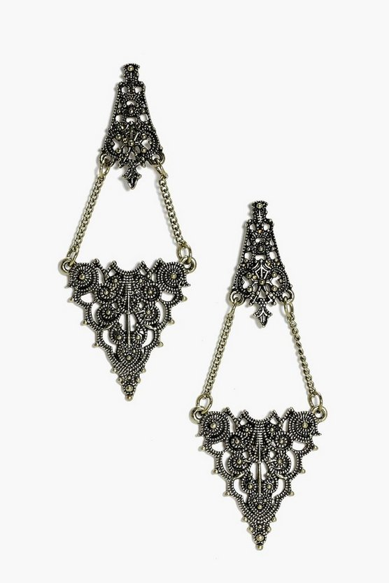 Orla Chandelier Boho Earrings