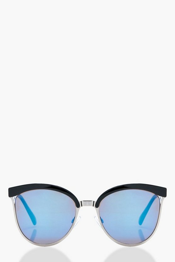 Louise Retro Mixed Frame Sunglasses