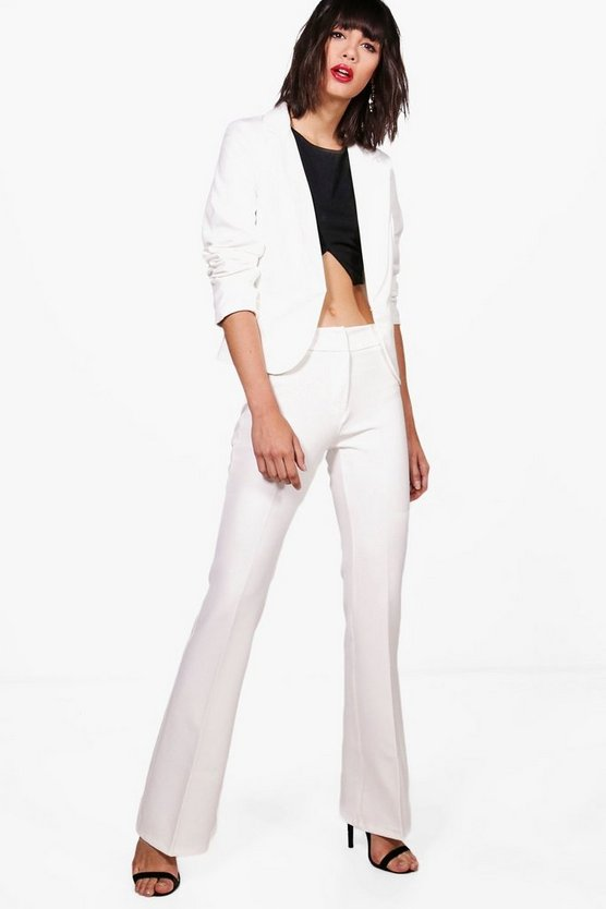 Erin Premium Wide Leg Tailored Suit Trouser