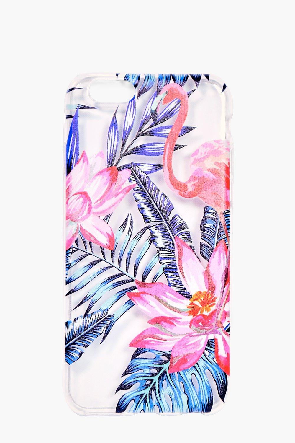 And Blue Tropical iPhone 6 Case - multi - Pink And