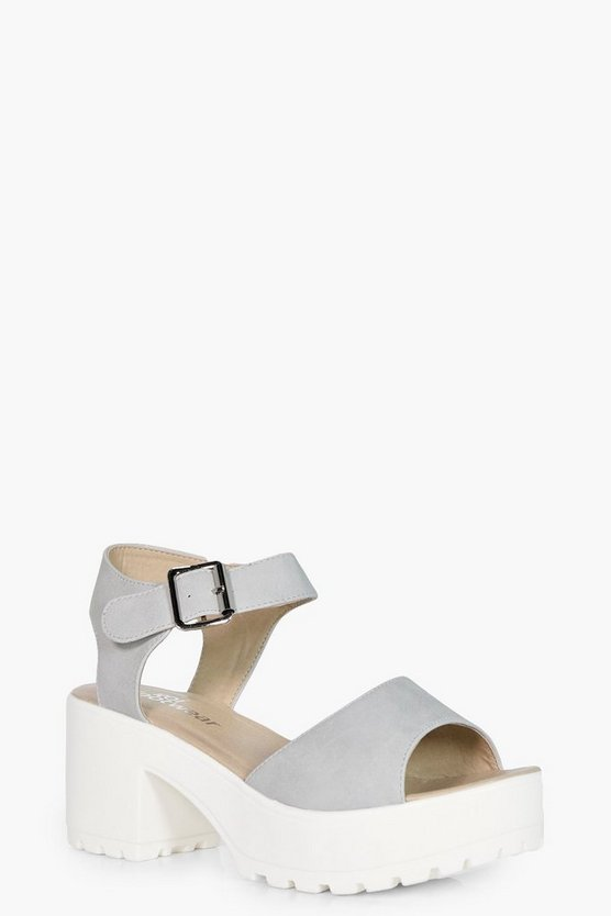Holly Peeptoe Two Part Cleated Sandal