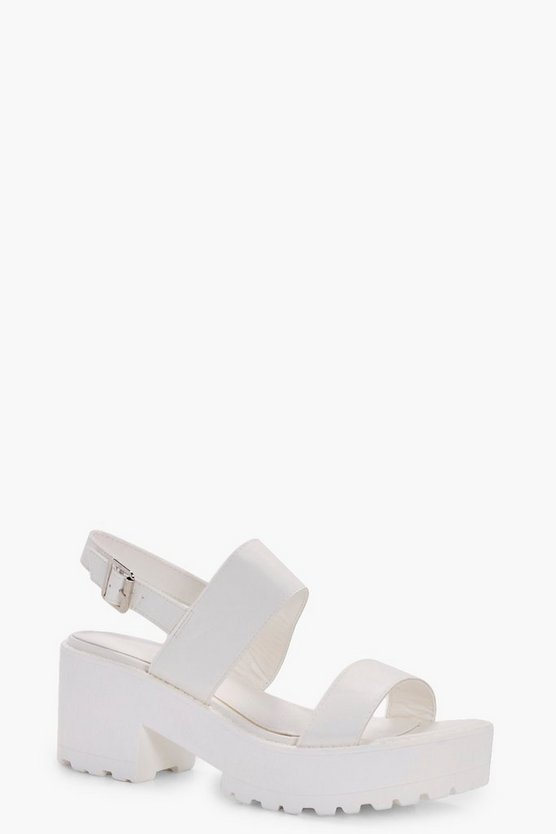 Faye Cleated Double Strap Sandal