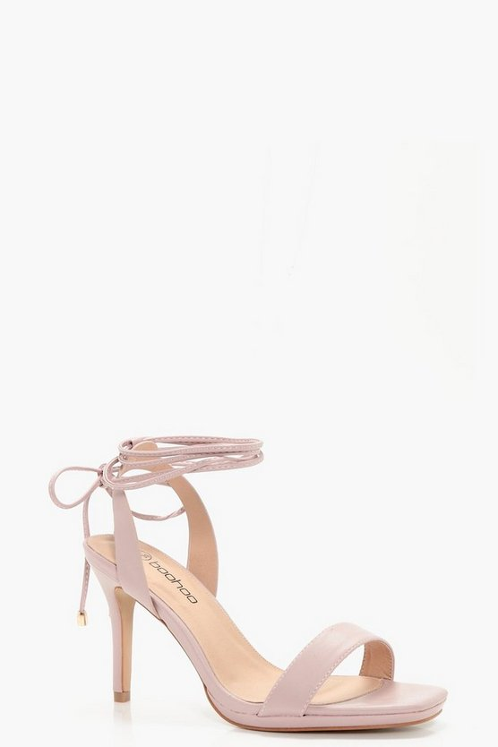 Gabriella Wrap Strap Two Part Sandals