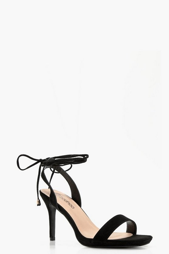 Alicia Wrap Strap Two Part Sandals
