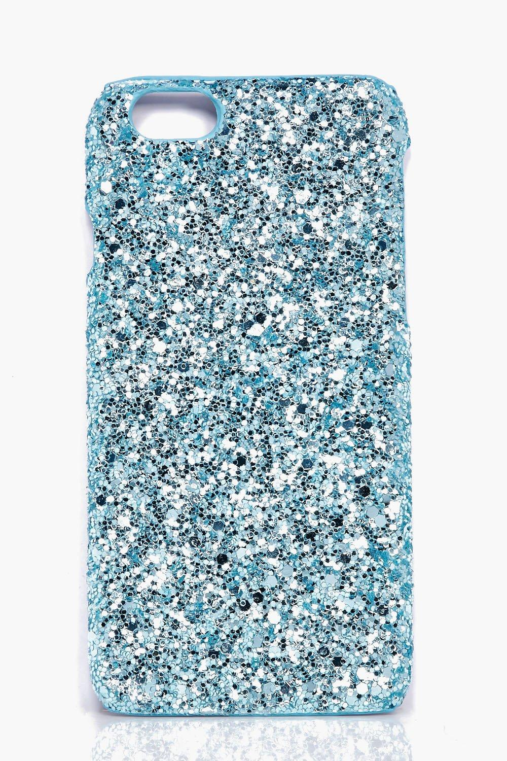 iPhone 6 Case - aqua - Glitter iPhone 6 Case - aqu