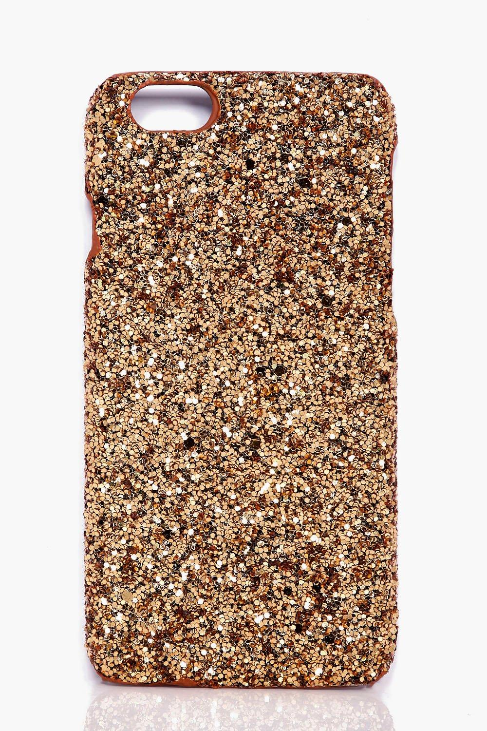 iPhone 6 Case - gold - Glitter iPhone 6 Case - gol