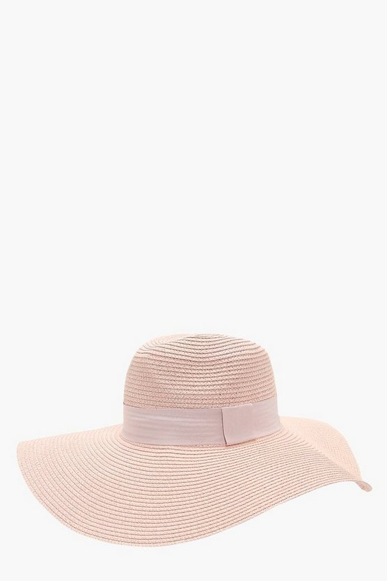 Mae Wide Brim Straw Hat