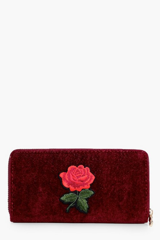 Kerry Embroidered Floral Purse