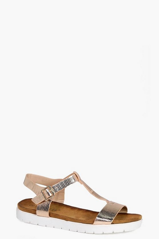 Isabella T Bar Cleated Sandal