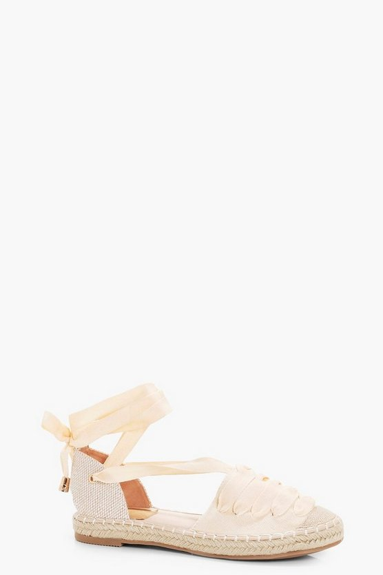 Harriet Lace Up Espadrille