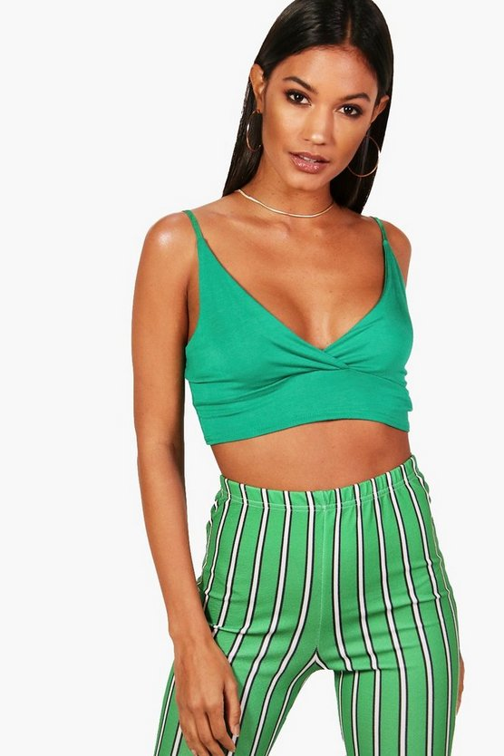 Basic Strappy Back Crop
