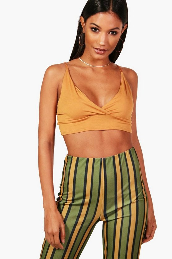 Holly Basic Strappy Back Crop