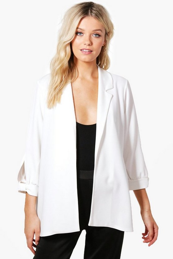 Jennie Sleeve Detail Tailored Blazer
