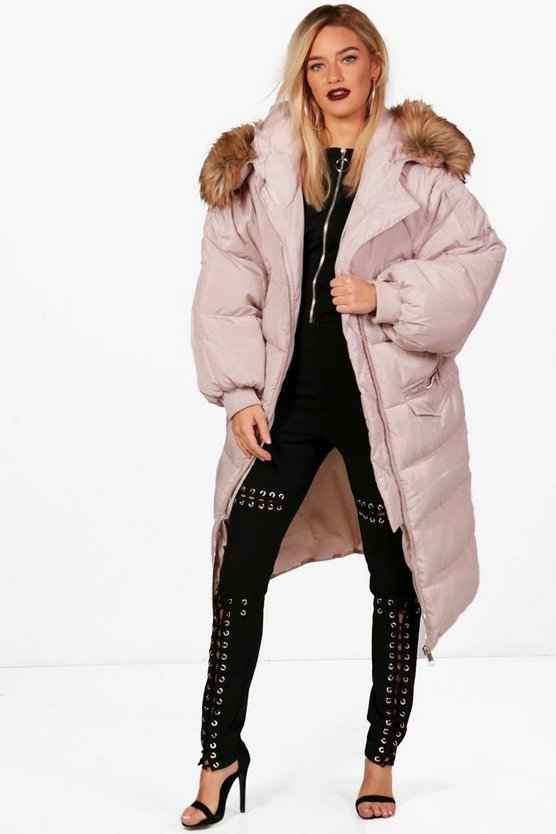 Jo Boutique Longline Padded Parka