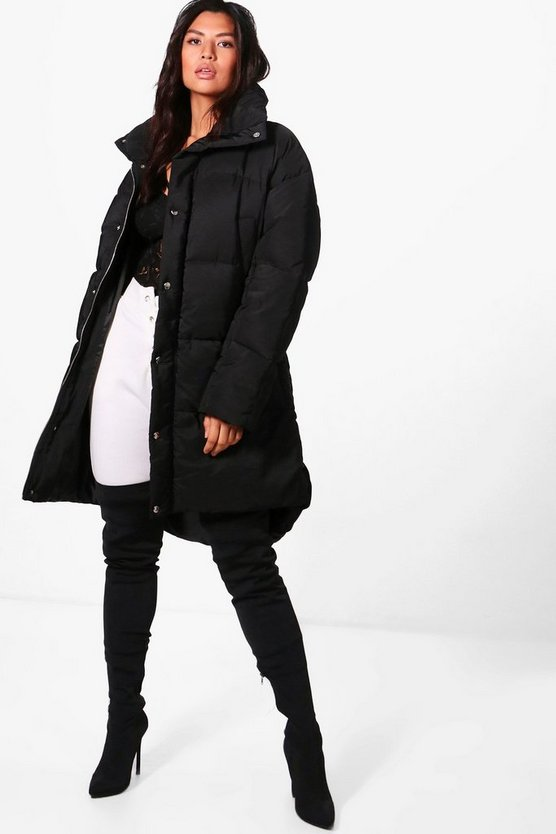 Boutique Funnel Neck Padded Jacket