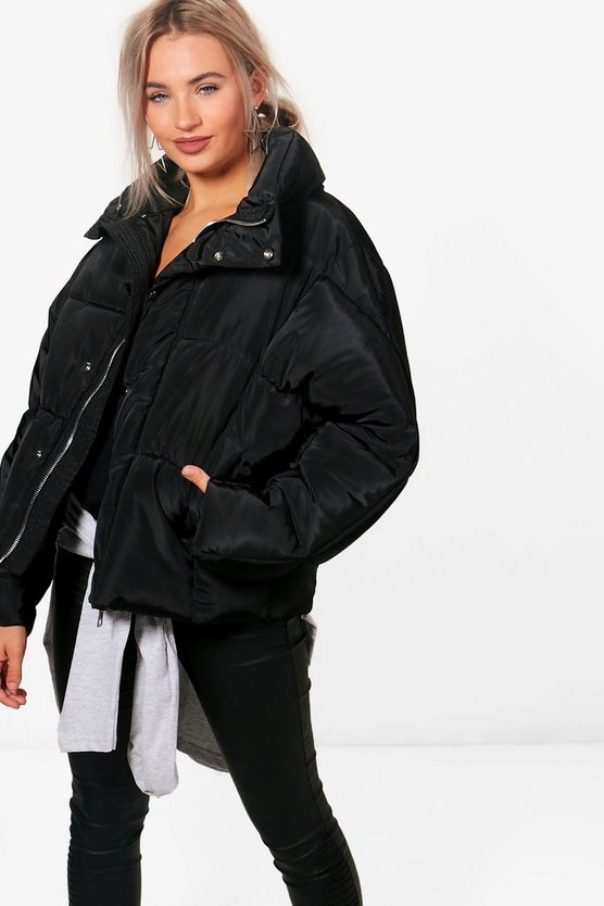 Sarah Boutique Oversized Padded Jacket