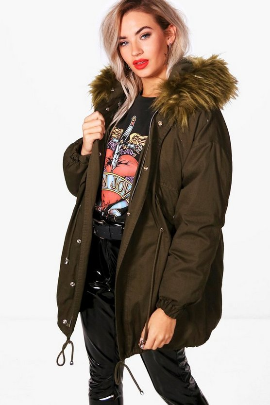 Pernille Short Parka With Detachable Lining
