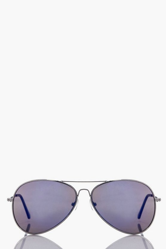 Louise Lense Aviators Sunglasses