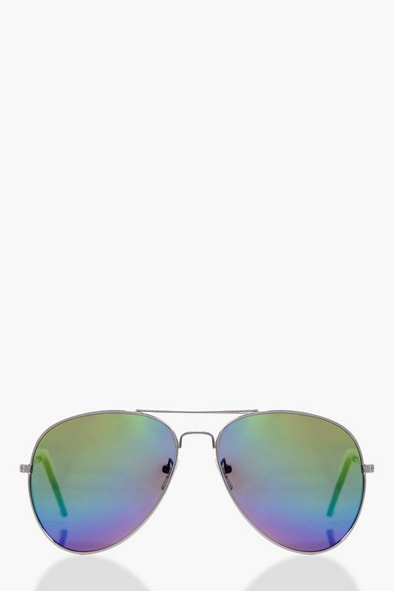 Sophie Rainbow Aviator Sunglasses