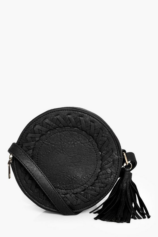 Kerry Whipstitch Drum Cross Body Bag