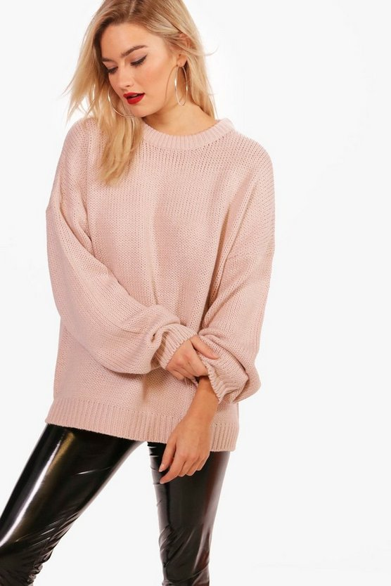 Joanna Oversized Drop Shoulder Jumper
