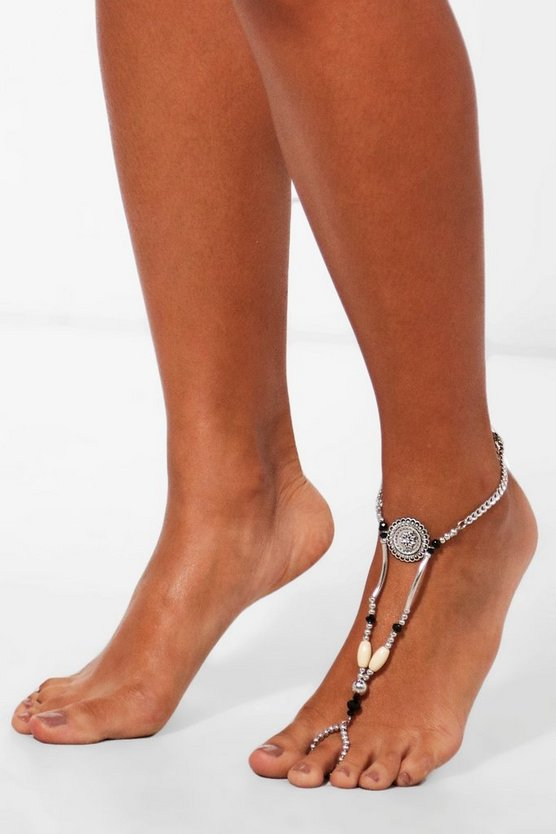 Lucy Coin Detail Festival Anklet