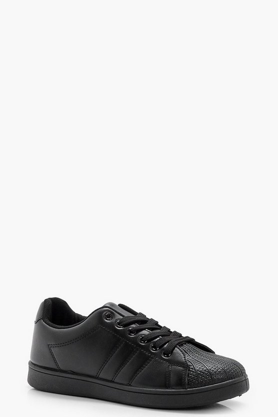 Jennifer Lace Up Trainer