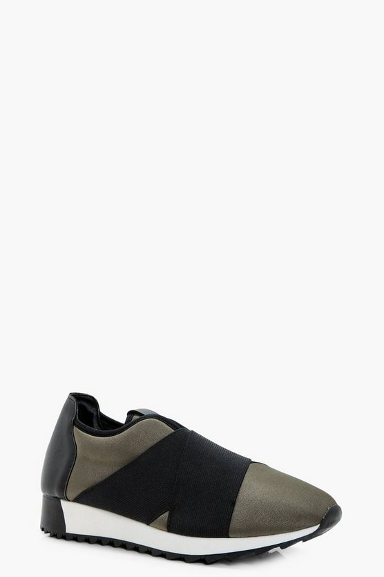 Molly Elastic Strap Sports Trainer