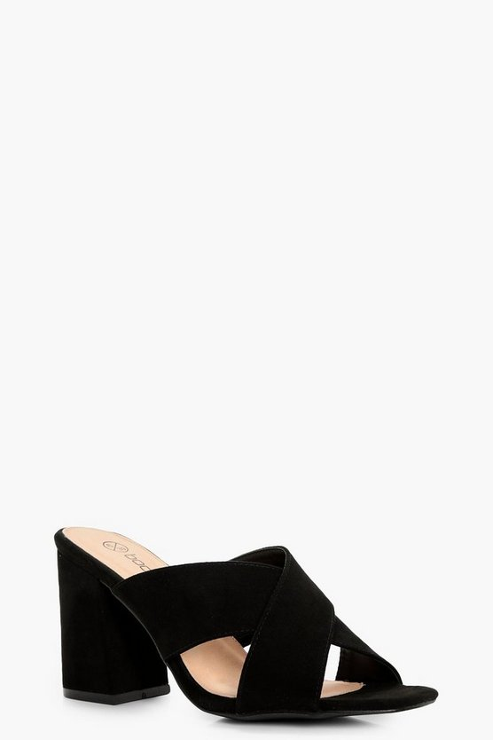 Kara Cross Front Mules