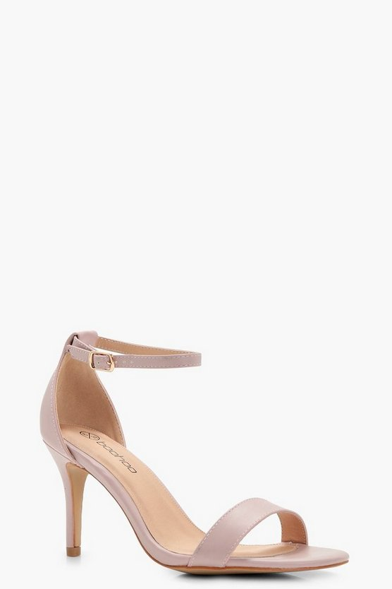 Eve Wide Fit Low Heel Two Part