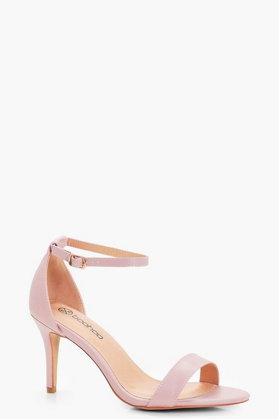 Lois Low Heel Two Part Sandals