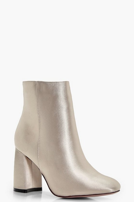 Tanya Satin Sock Boot