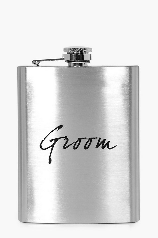 Wedding Groom Hip Flask