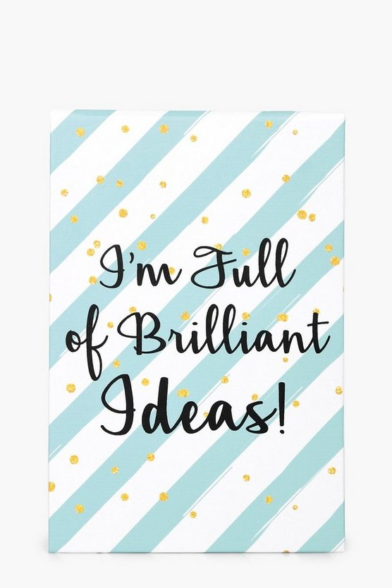 Brilliant Ideas Notebook & Pen