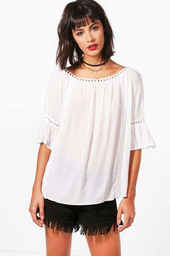 Mila Cold Shoulder Top
