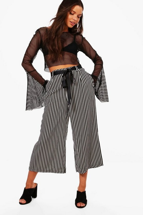 Adelaide Striped Culottes