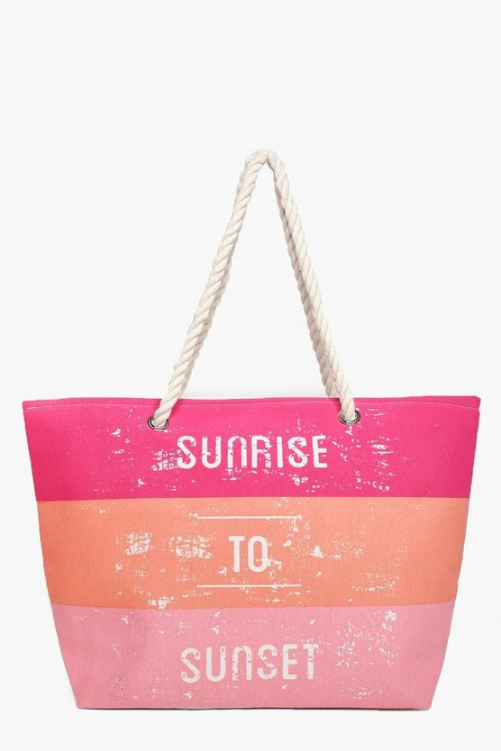 Lexi Sunrise To Sunset Beach Bag