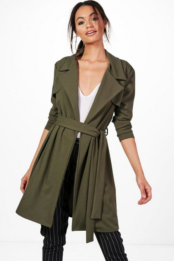 Bethany Tailored Duster Coat