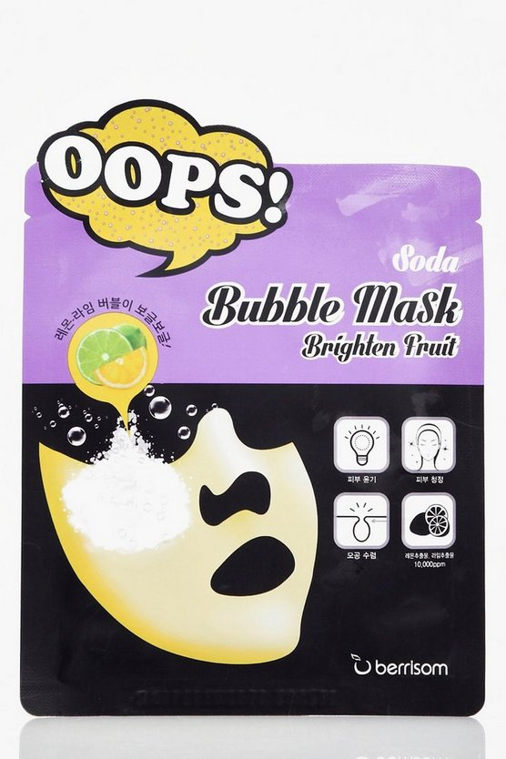 Soda Bubble Mask Brighten Fruit
