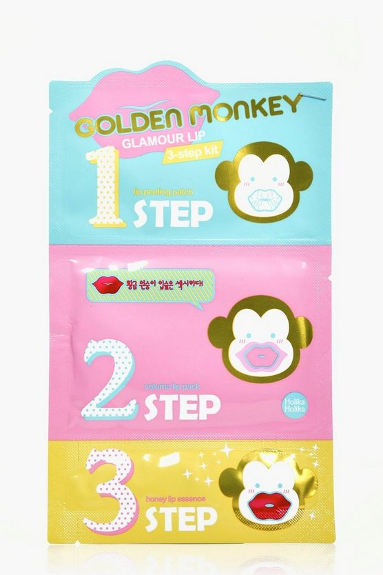 Holika Holika Golden Monkey Glamour Lip Kit
