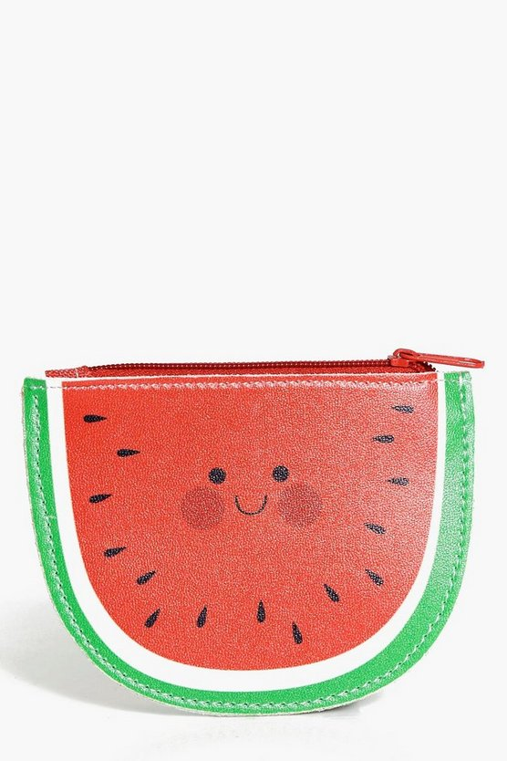 Lucy Watermelon Vinyl Coin Purse