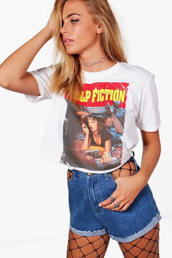 Pulp Fiction Licence Crop Top
