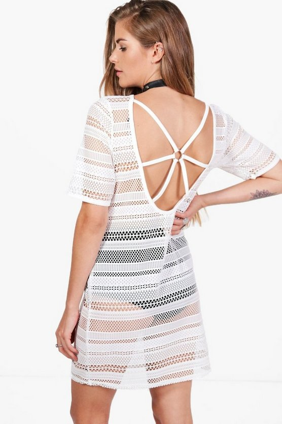 Este Festival Caged Back Shift Dress