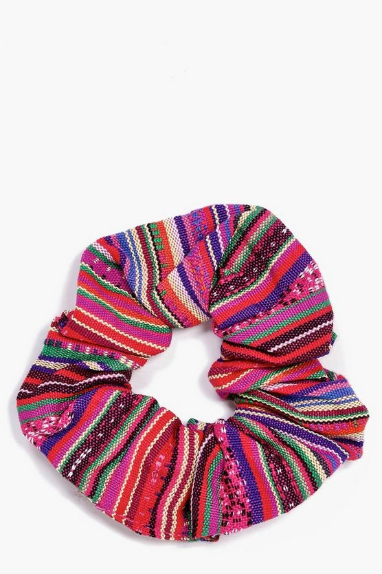 Diana Tribal Print Scrunchie