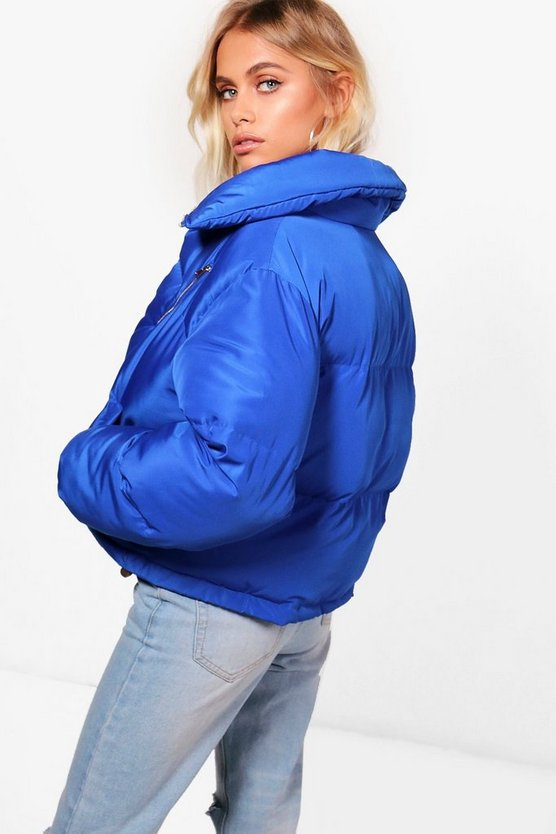 Charlie Funnel Neck Padded Jacket