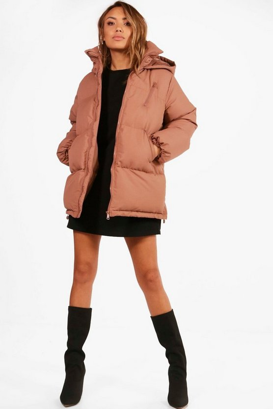 Katie Hooded Padded Coat