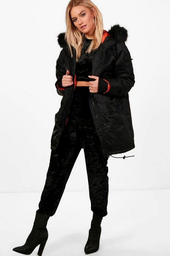 Georgia Oversized Parka