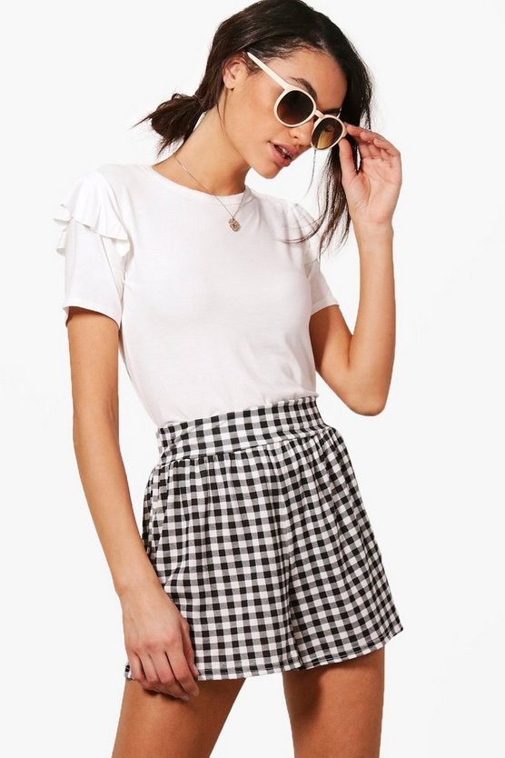 Georgia Gingham Flippy Shorts
