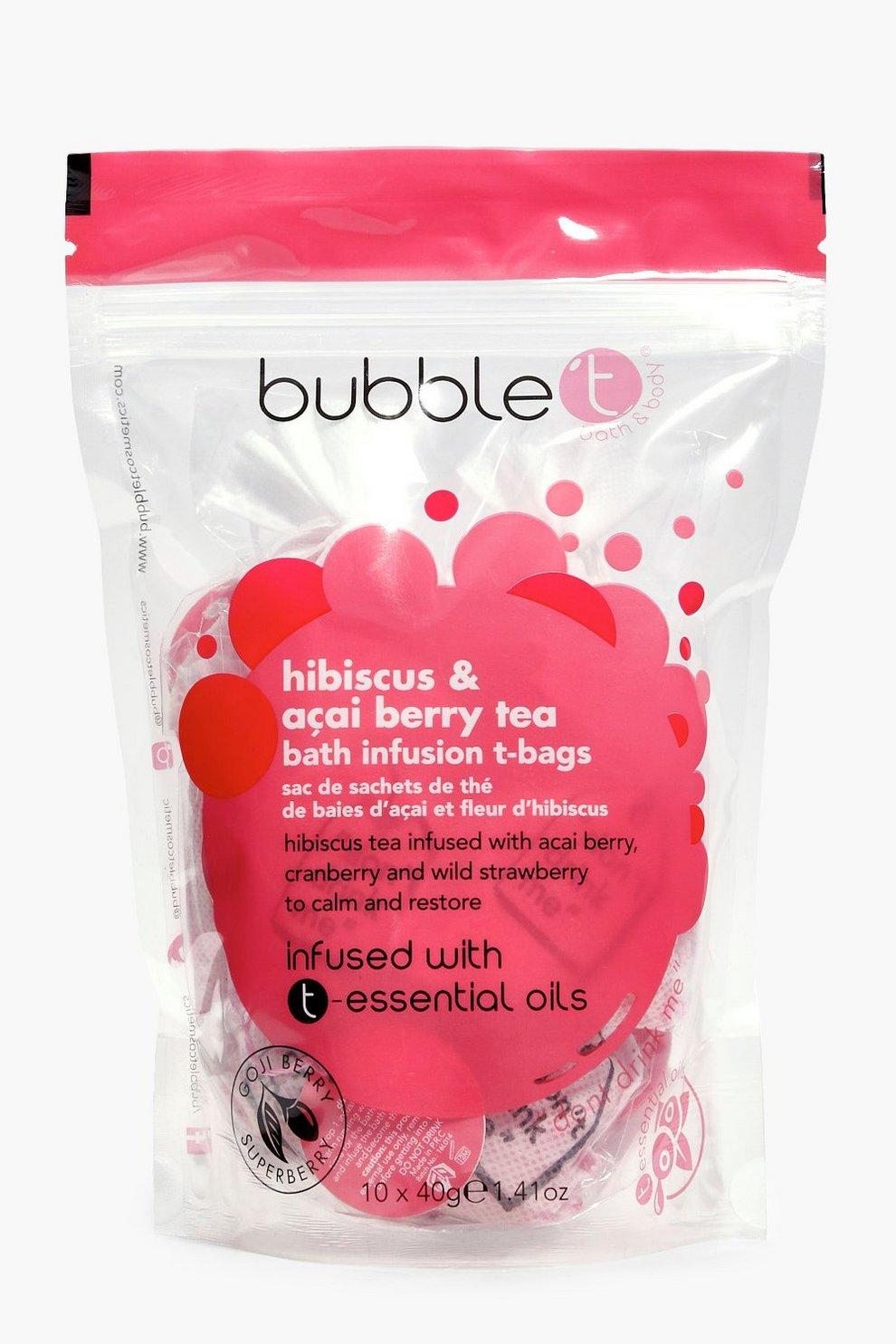 Hibiscus Bath Tea Bags 10 Pack | Boohoo