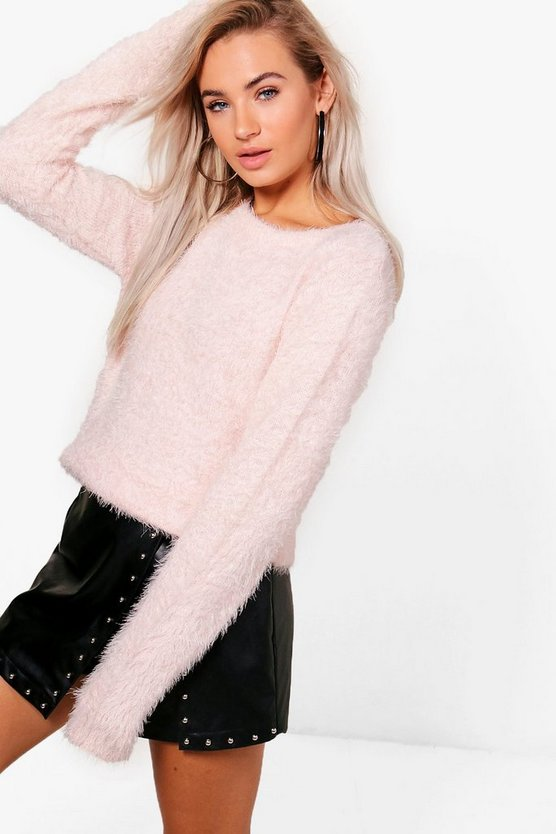 Eloise Fluffy Knit Jumper